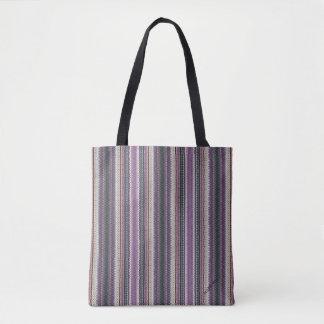 HAMbWG - Tote Bag - Purple/Violet Woven Image