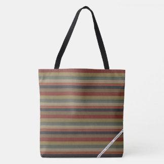 HAMbWG - Tote Bags - American Indian Stripe