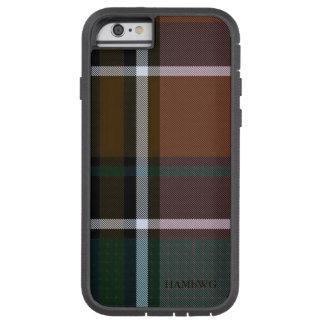 HAMbWG  Tough Xtreme Phone Case - Brown Plaid