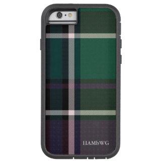 HAMbWG  Tough Xtreme Phone Case - Green Plaid