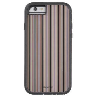 HAMbWG Tough Xtreme Phone Case Pale/Black Stripe