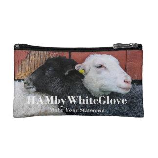 HAMbWG Travel Bags - HAMbWG Black White Sheep