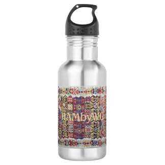 HAMbWG Vintage/Pale Yellow Water Bottle  Stainless