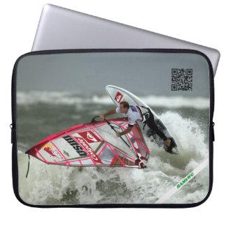 "HAMbWG Wind Surfing - 15"" Neoprene Computer Sleeve"