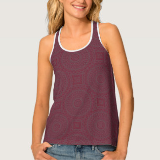 HAMbWG - Women's Tank Top -  Cherry Boho