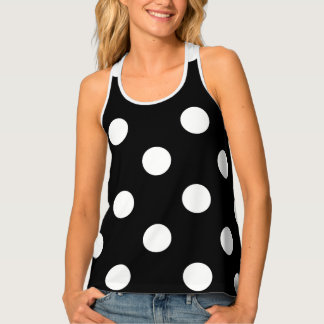 HAMbWG - Women's Tank Top - Polka Dots
