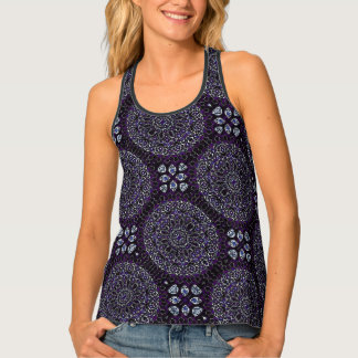 HAMbWG - Women's Tank Top -  Purple Boho