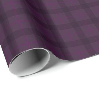 HAMbWG Wrapping Paper - Plum Tartan