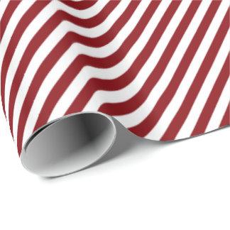 HAMbWG Wrapping Paper - Red/White Striped