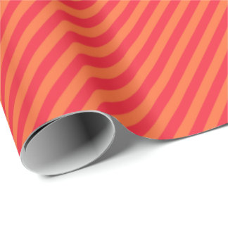 HAMbWG Wrapping Paper - Two Tone Orange Sherbert