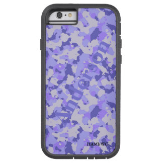 HAMbWG  Xtreme Phone Case -  Purple Camouflage