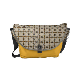 HAMbWG Yellow Bone BlackDesiger Messenger Bag