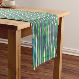 "HAMbyWG 14"" x 721 Table Runner - Navy White Lime +"