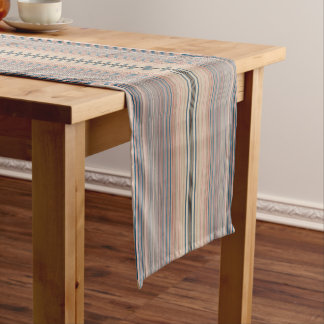 """HAMbyWG 14"""" x 72 Table Runner - Pale Beige Stripes"""