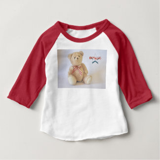HAMbyWG  3/4 Sleeve  T-Shirt - Teddy Bear