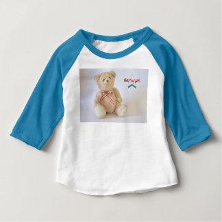 HAMbyWG  3/4 Sleeve  T-Shirt - Teddy Bear
