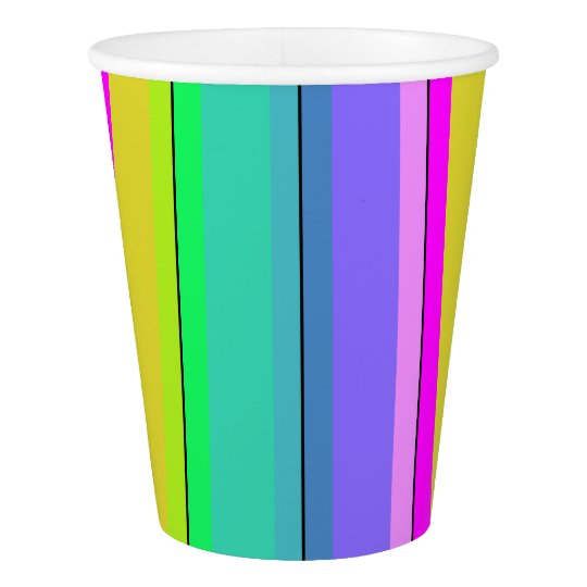 HAMbyWG - 9 oz - Rainbow (Personalize it!) Paper Cup