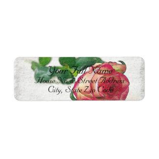 HAMbyWG - Address Labels - Single Rose