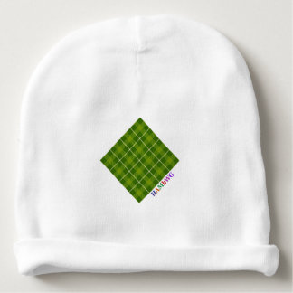 HAMbyWG - Baby Beanie - L. Green Plaid
