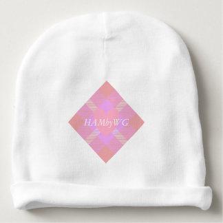 HAMbyWG - Baby Beanie - Pink Peach Tartan