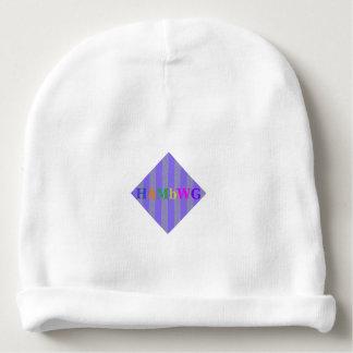 HAMbyWG - Baby Beanie - Purple Stripe