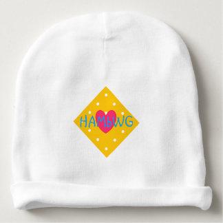 HAMbyWG - Baby Beanie - Yellow White Polka Dots