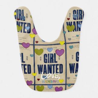 HAMbyWG - Baby Bib -  Girl Wanted