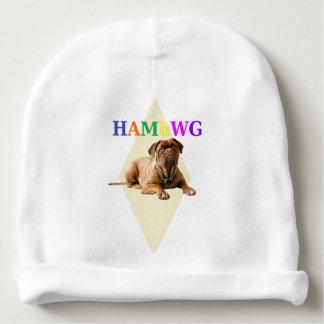 HAMbyWG Baby Boy Beanie - HAMbWG Logo w  Mugsy Baby Beanie