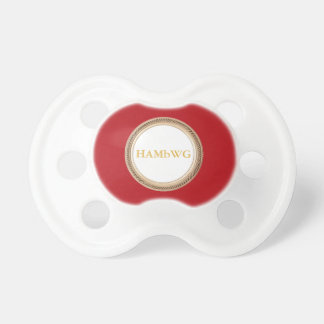 HAMbyWG Baby  Pacifier - Classy
