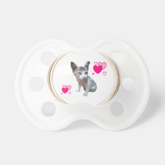 HAMbyWG Baby  Pacifier -  Tiny the Kitty