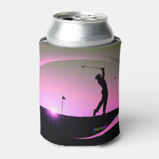 HAMbyWG - Beverage Cover - Golf Themed Can Cooler