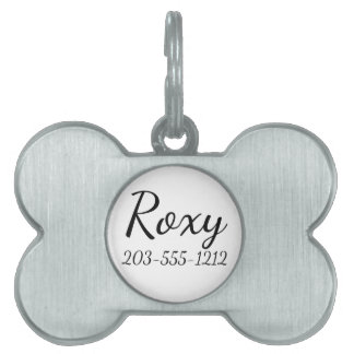 HAMbyWG Bone Pet Tag - Add your dogs name