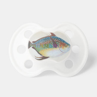 HAMbyWG - BooginHead® Pacifier -  Antique Fish 1
