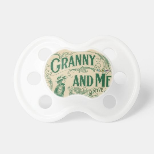 HAMbyWG - BooginHead® Pacifier -  Granny and Me