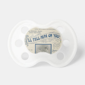 HAMbyWG - BooginHead® Pacifier - I'll Tell Papa