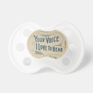 HAMbyWG - BooginHead® Pacifier -  Your Voice