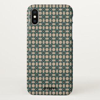 HAMbyWG  Cell Phone Case - Aqua, Black & Creme