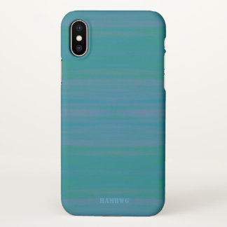 HAMbyWG  Cell Phone Case -  Aqua Teal Wash