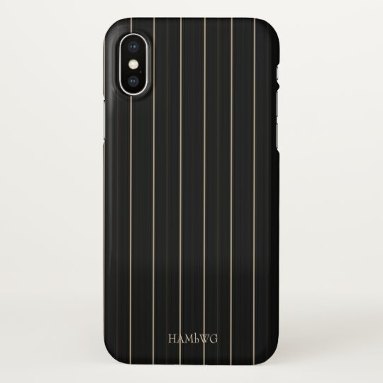 HAMbyWG  Cell Phone Case - Black & Creme