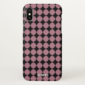 HAMbyWG  Cell Phone Case - Black & Pink
