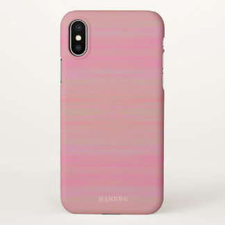 HAMbyWG  Cell Phone Case -  Peachy Pink Wash