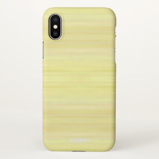 HAMbyWG  Cell Phone Case -  Yellow Wash