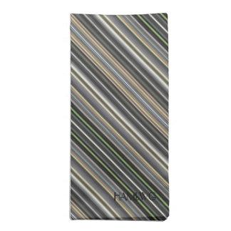 HAMbyWG - Cloth Napkins (4) - Diamond Bars