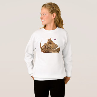HAMbyWG ComfortBlend® Sweatshirt Squirrel Swoop