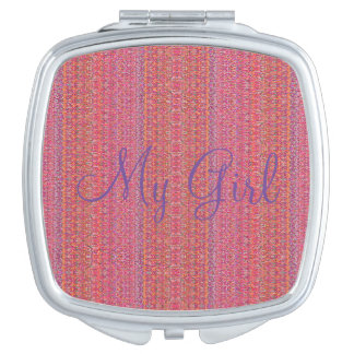 HAMbyWG Compact Mirror - My Girl Pink