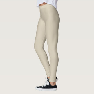 HAMbyWG - Compression Leggings - Antique Beige