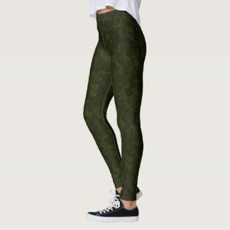 HAMbyWG - Compression Leggings - Army Green Camo