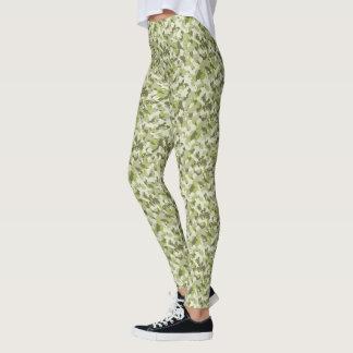 HAMbyWG - Compression Leggings - Green Camoflage