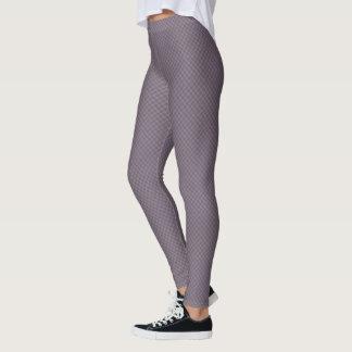 HAMbyWG - Compression Leggings - Lilac Checker