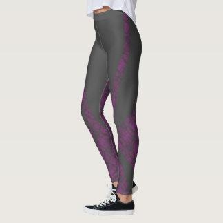 HAMbyWG - Compression Leggings - Mottled Purple
